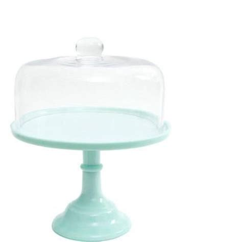 stand walmart the pioneer jadeite 10 quot cake stand with glass cover Cake