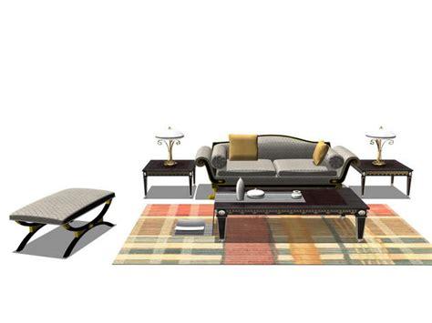3d Möbel Kostenlos by Sofa Kombination M 246 Bel 3d Model Free 3d Models