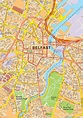 belfast map - Google Search | Belfast map, City maps, Belfast