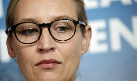 weidel beine who is the afd s weidel far right