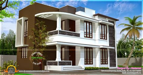 Home Design 1500 Sq Ft : Modern 1500 Sq Ft House Exterior Home Kerala Plans Plan