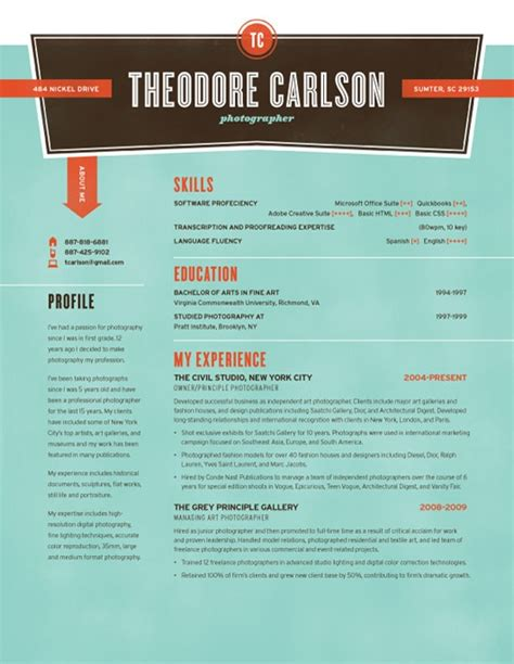 Visually Appealing Resume Template by Pin By Darlene Schaefer On Resume Ideas