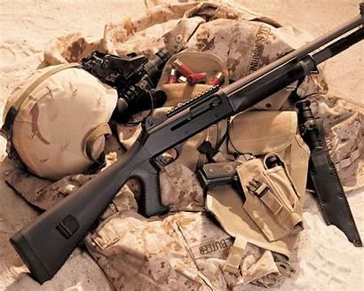 Shotgun Hunting Army Gear Desert Wallpapers Military