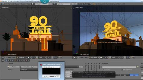 Building Template Blender by How To Make A Custom 20th Century Fox Intro Youtube