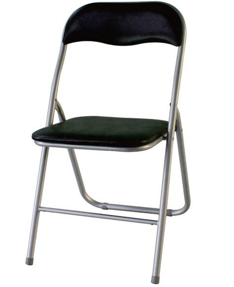 chaise pliante salle à manger chaise pliante declick noir
