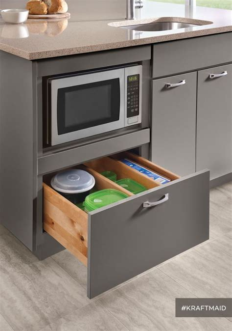 microwave in island cabinet microwave cabinet microwaves and counter space on pinterest
