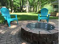 inspiring patio design ideas with fire pits Inspirational Paver Patio Fire Pit Best 25 Paver Fire Pit ...