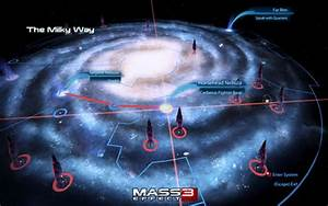 Beautiful Milky Way Galaxy Mass Effect 3 - Pics about space