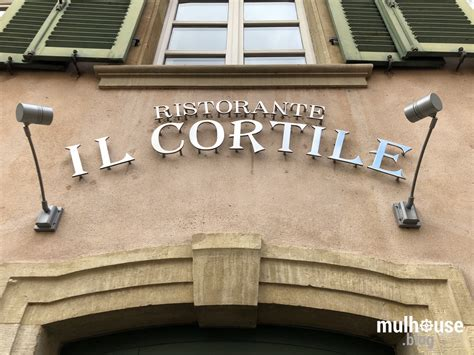 Il Cortile Restaurant by L Exquise Table D Il Cortile Mulhouse Le Nouveau