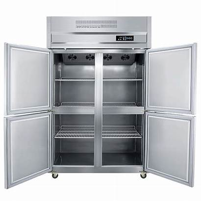 Kitchen Fridge Stainless Restaurant Steel Appliance Upright