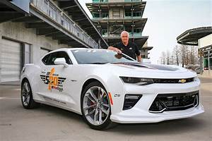2017 Chevrolet Camaro SS 50th Anniversary to Pace ...