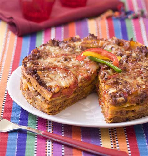 cuisine trucs et astuces lasagne de tortillas au boeuf et poivron les meilleures
