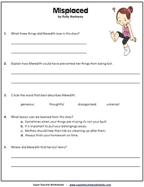grade 4 reading comprehension worksheets reading comprehension questions 4th grade laptuoso
