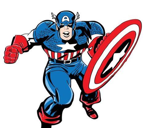 gambar mewarnai captain america