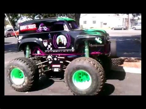 New Grave Digger Mini Monster Truck For Sale Mini Truck