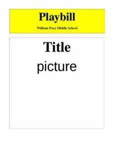 Dance Recital Program Template Playbill Templates Word Bing Images Playbill Broadway