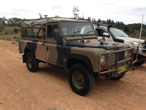 land rover australian rare ex australian army land rover defender 110 classic
