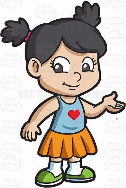 Cartoon Clipart Adorable Vectortoons Drawing Clip Characters