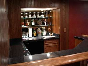 Home Bar Cabinet Ideas - Useful And Cool Mini Bar Cabinet