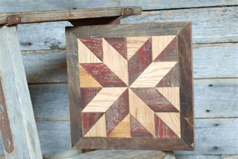 wooden barn quilts for wooden barn quilt block rustic decor