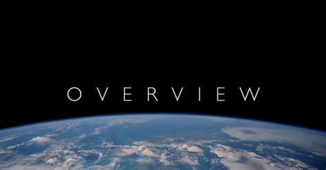 The Overview Effect  The Circular