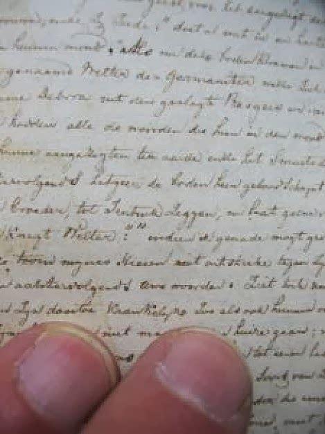 reading handwriting hand writing
