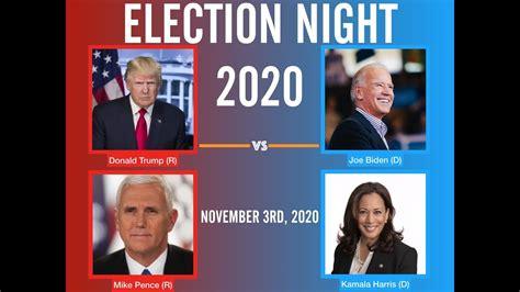 biden joe trump election vs donald november night