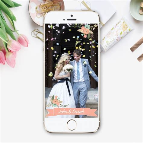 wedding snapchat filter where to get custom snapchat filters for weddings