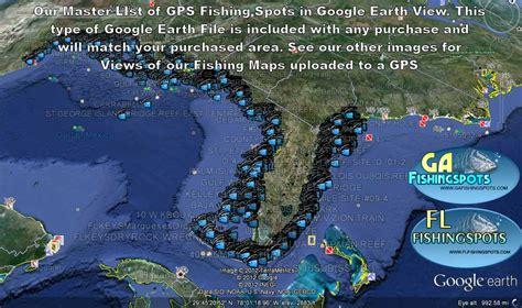 fishing google earth maps map florida spots middle gps georgia spot coordinates weather areas coastal flfishingspots