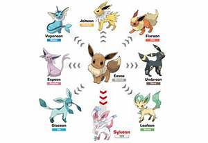 pokemon all eevee evolutions images
