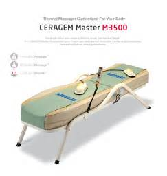 ceragem massage bed ceragem master m3500 for sale