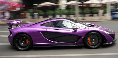 mclaren p1 purple mclaren p1 is shiny purple in china carnewschina com