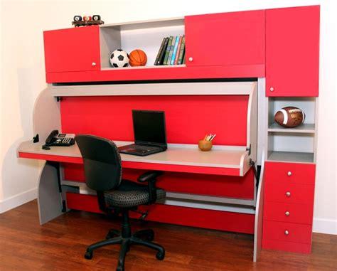 desk transforms into bed desk bed more space place dallas