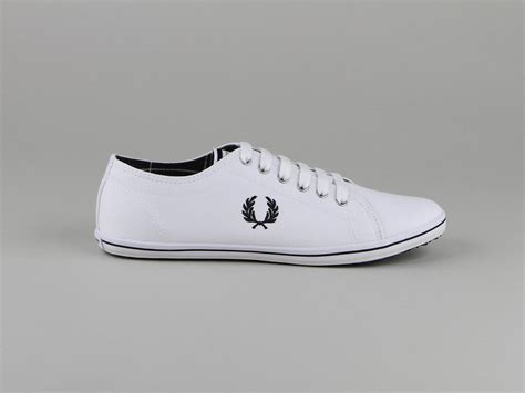 Chaussures Fred Perry blanches Fashion homme