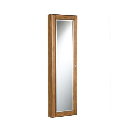 Wall Mount Jewelry Mirror Armoire by Sei Wall Mount Jewelry Armoire With Mirror