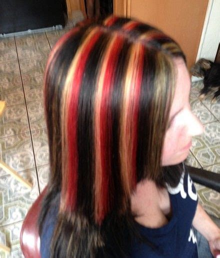 Hair With Brown Underneath Hairstyles by Hair With Underneath Brown Hair With And