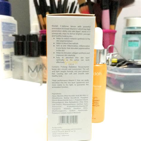 and lifestyle wardah c defense with vitamin c serum review