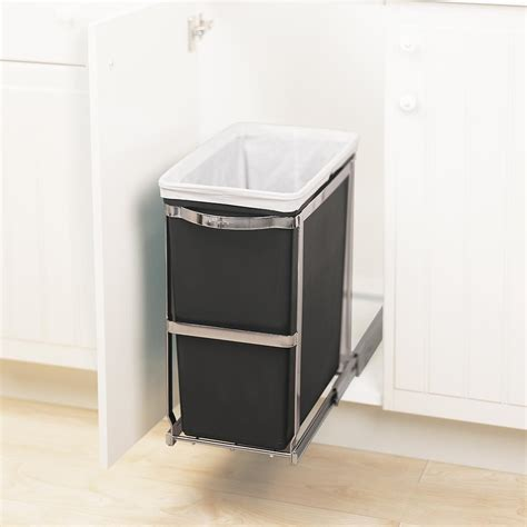 Simplehuman In Cabinet Trash Can Home Furniture Decoration
