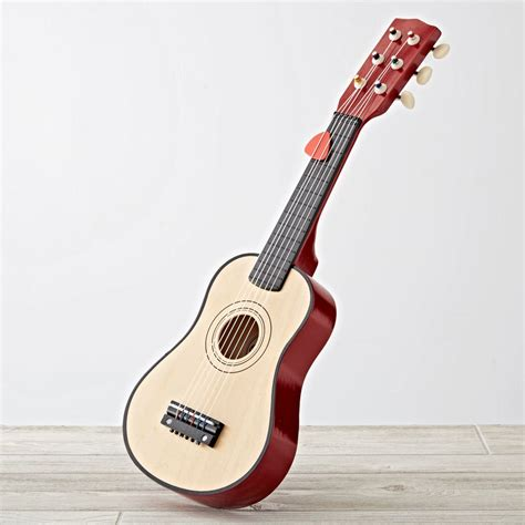 Kids Girls Bedroom Ideas by Kids Wooden Toy Guitar The Land Of Nod