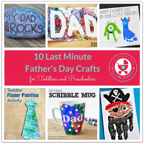 10 last minute s day crafts for toddlers and 588 | 10 Last Minute Fathers Day Crafts