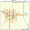 Tremont Illinois Street Map 1775965