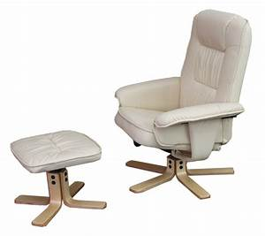 Sessel Mit Massagefunktion : relaxsessel fernsehsessel sessel mit hocker m56 kunstleder creme ~ Buech-reservation.com Haus und Dekorationen