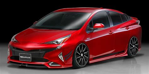 2016 Toyota Prius Rendered With Wald's Sport Line Kit
