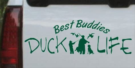 foto de Duck Life Best Buddies Car or Truck Window Laptop Decal