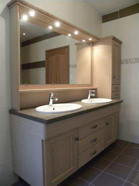 cuisines meubles salle de bains contemporaine chêne naturel verni mat gilles martel