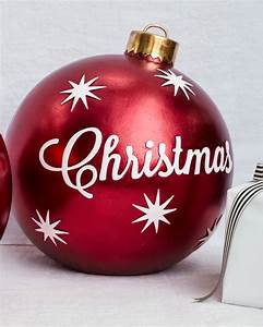 Outdoor Merry Christmas Ornaments