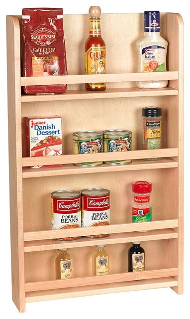 spice rack organizer for cabinet century components sras15pf wood door mount kitchen spice