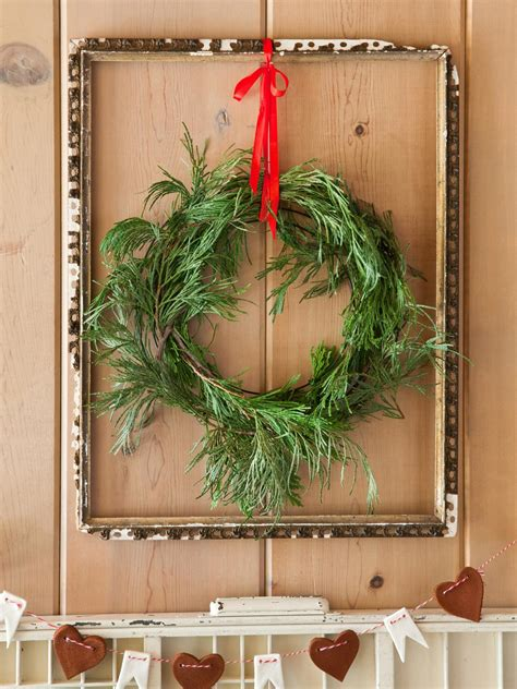 winter wreaths door decorations   display