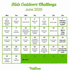 join the with our 30 day outdoors challenge