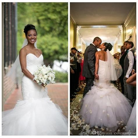 beautiful wedding dresses african american brides